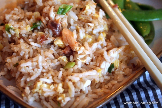 Anchovy and Chicken Fried Rice